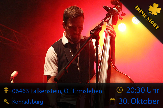 Irish Night in Falkenstein, OT Ermsleben, 30/10/2014