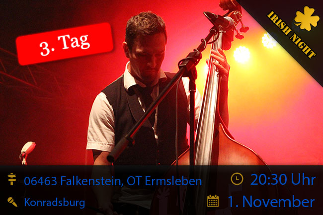 Irish Night in Falkenstein, OT Ermsleben, 01/11/2014